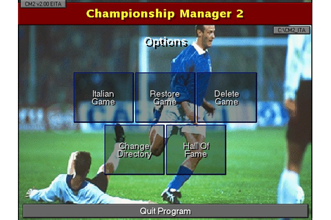 Championship Manager 2: Italian Leagues 96/97 Screenshots