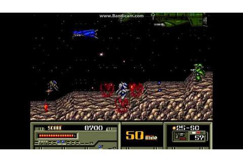 Target Earth (Sega Genesis) Stage 1 - Raid on Ganymede ...