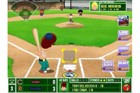Backyard Baseball 2001 Gameplay - YouTube