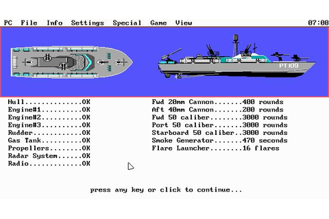 PT-109 Download (1987 Simulation Game)