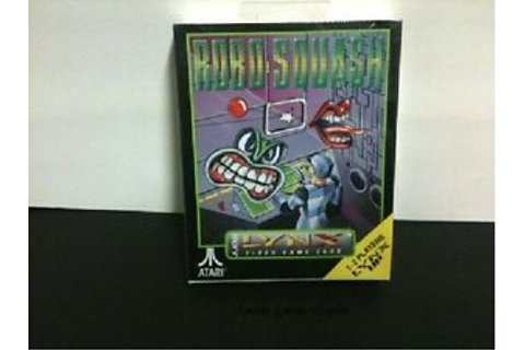 RoboSquash Robo Squash Game for Atari Lynx NEW FACTORY ...