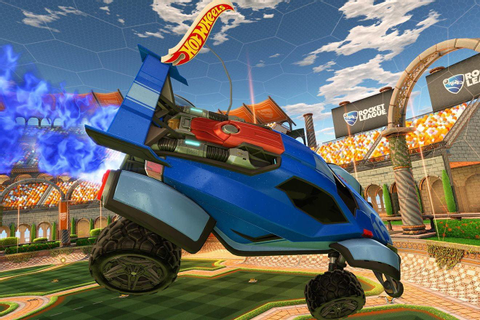 Hot Wheels unveils a 'Rocket League' tabletop soccer game ...
