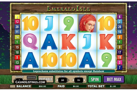 Free Emerald Isle slot machine | Casino Listings free games