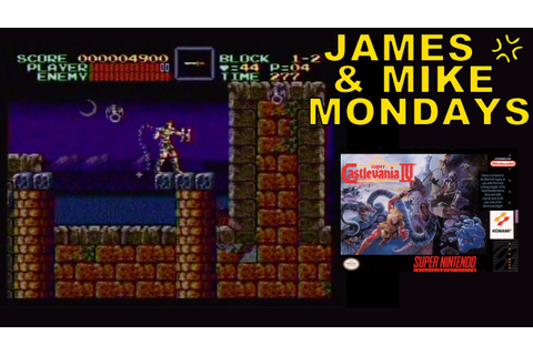 Super Castlevania IV (SNES Video Game) Part 1 - James ...
