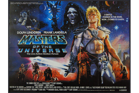 The 'Masters of the Universe (1987)' film is a holodeck ...