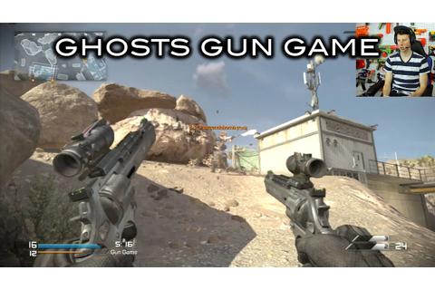 THE BRUTAL GUN GAME! (Call of Duty: Ghosts) - YouTube