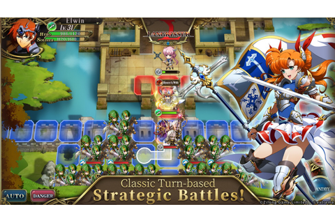 Mobile Entry in 'Langrisser' Strategy RPG Franchise Is Now ...