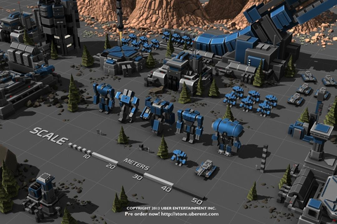 Planetary Annihilation strategy game – RTS | Red Bull