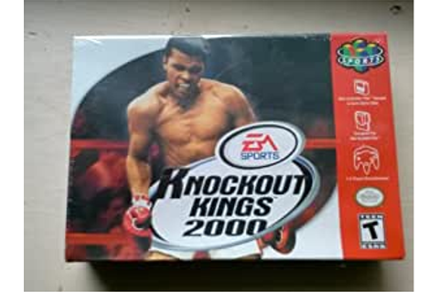Amazon.com: Knockout Kings 2000 (Nintendo 64): Video Games