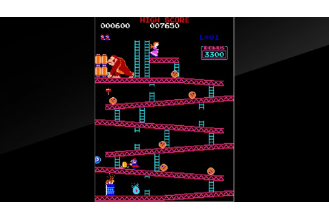 Original Donkey Kong And A Never-Released Nintendo Arcade ...