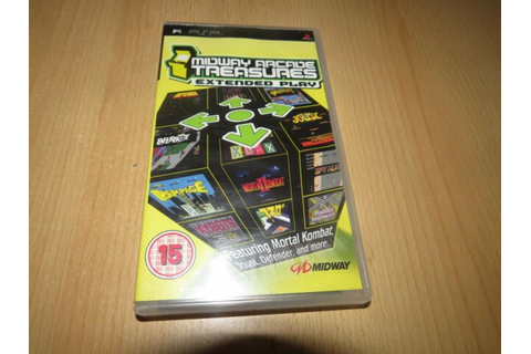 Midway Arcade Treasures Extended Play Sony PSP Game | eBay