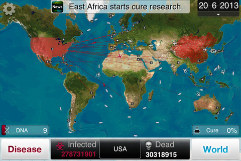 Plague Inc is the next step in the evolution of virus ...