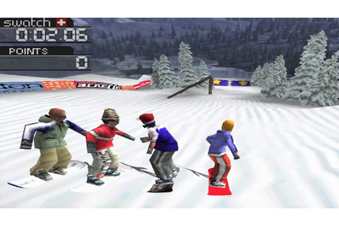 Cool Boarders 3 PS1 Gameplay HD - YouTube