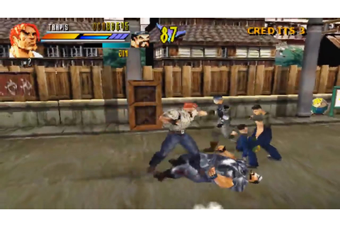 Gekido Urban Fighters (PS1 Gameplay) - YouTube