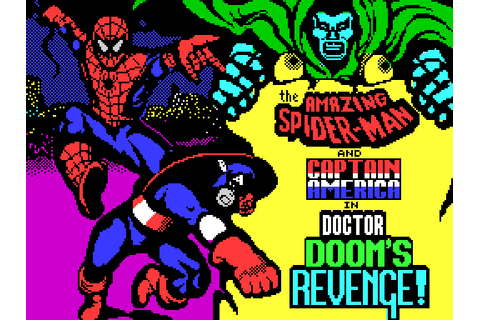 The Amazing Spider-Man and Captain America in Dr. Doom's ...