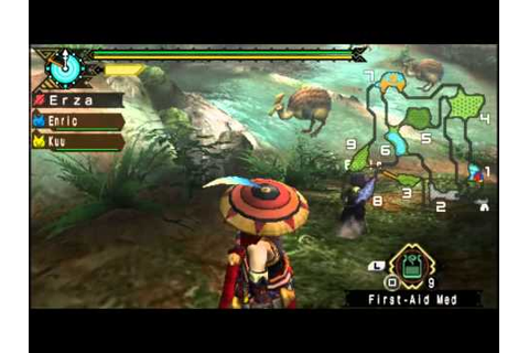 Let's Play Monster Hunter Portable 3rd PSP part 1 - YouTube