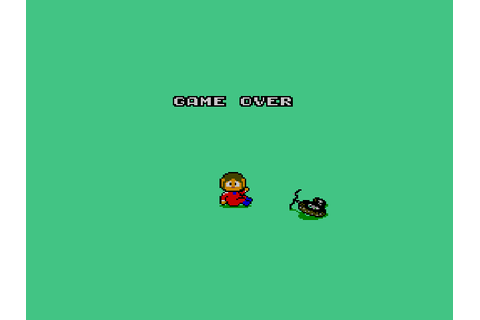 Alex Kidd - BMX Trial Screenshots | GameFabrique