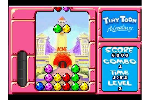 Tiny Toons Wacky Stackers (GBA Emulator) - YouTube