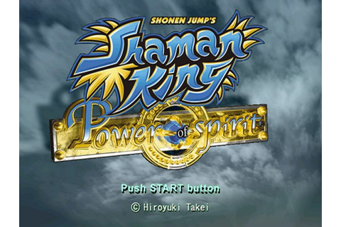 Shaman King - Power of Spirit (2004) PS2 game
