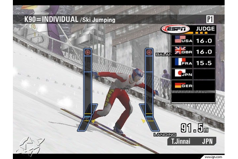 ESPN International Winter Sports 2002 Screenshots ...