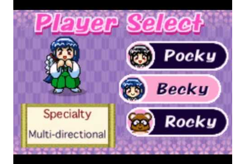 Let's Play Pocky & Rocky with Becky GBA ~BLIND~ [German ...