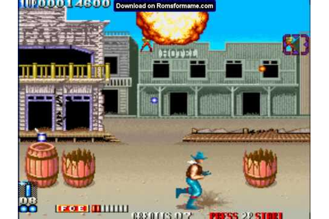 Blood Bros. - arcade mame game by www.romsformame.com ...