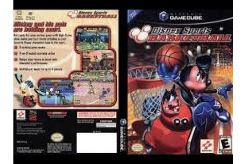 Disney Sports: Basketball (Nintendo GameCube) - YouTube