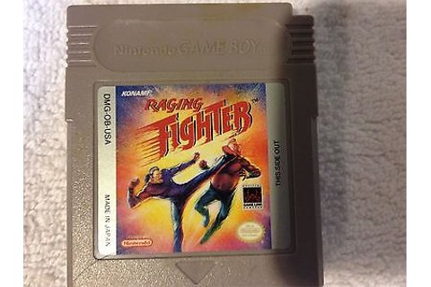 Raging Fighter Nintendo Game Boy GB Cart Only TESTED ...