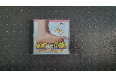 Monty Python Complete Waste Of Time PC CD Rom Game | eBay