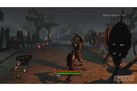 The Dark Eye: Demonicon screens show fantasy RPG action ...