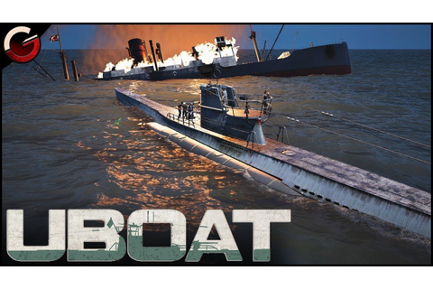 MANAGE YOUR OWN UBOAT! Best WW2 U-boat Simulation Game ...