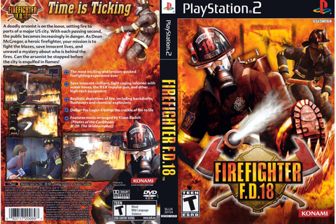 Video Club de los Valles Juegos PS2: FIREFIGHTER F.D.18