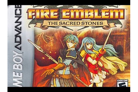CGRundertow FIRE EMBLEM: THE SACRED STONES for Game Boy ...