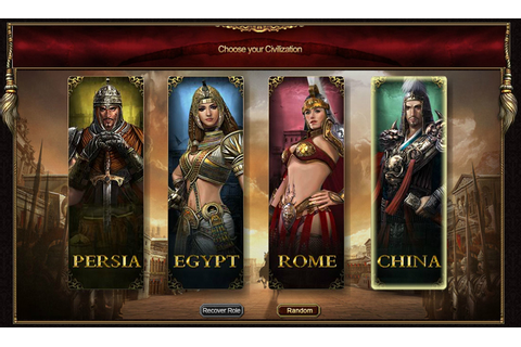 Free MMORTS Browser Game ~ | Zmaji District | World of ...