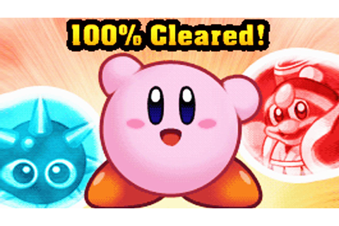 Kirby Mass Attack - FINALE +100% GAME COMPLETE - YouTube