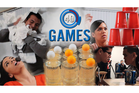Minute to Win It Games: The 40 Greatest Party Games (PART ...