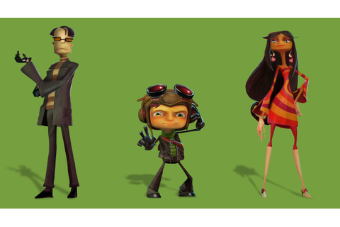 Wallpaper Psychonauts in the Rhombus of Ruin, best games ...