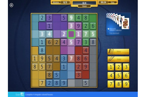 Free Microsoft Sudoku game released for Windows 8.1 ...
