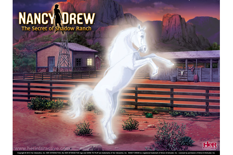 Nancy Drew: Secret of Shadow Ranch - Horse Game Adventure ...
