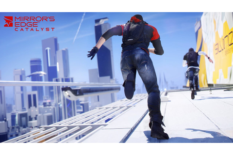 Mirror's Edge Catalyst - A Run Through Glass (3440x1440 ...