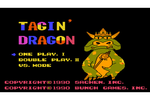 "Colorful Dragon - aka ""Tagin Dragon"" (NES) Review - YouTube"