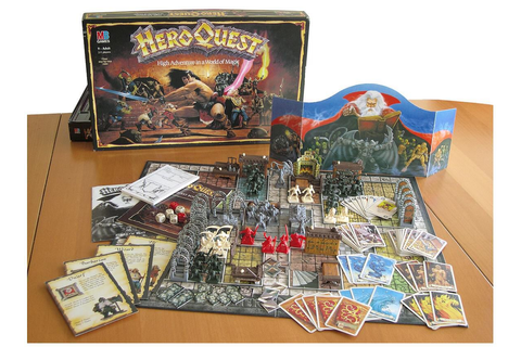 Hero Quest Board Game | Board Games, All My Favorites ...