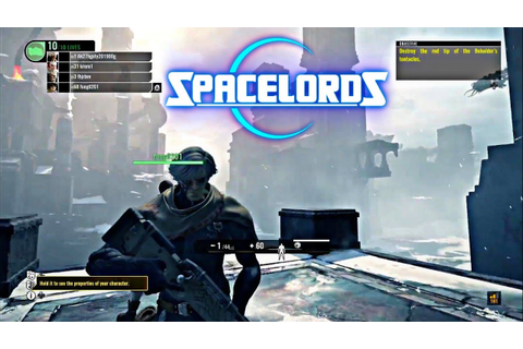 NEW! Free to Play Game You Must Try - Spacelords PS4 Pro ...