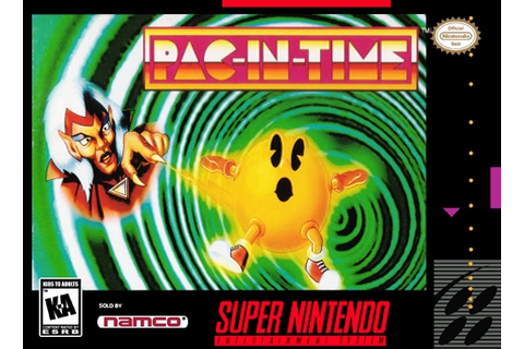Pac-In-Time SNES Super Nintendo