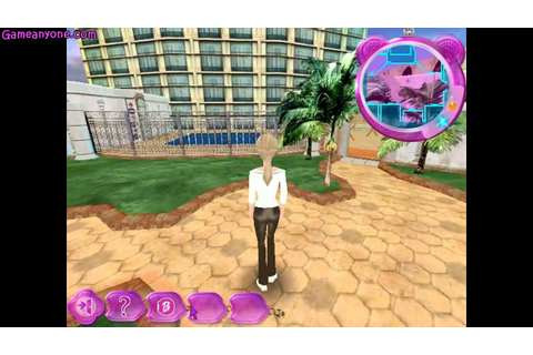 Barbie secret agent game : poitange