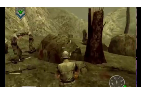 Shellshock Nam'67 (PS2) Gameplay (Mission 2) - YouTube