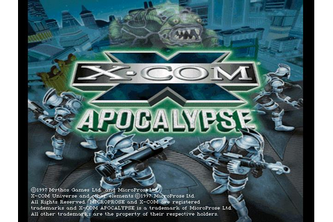 X-COM: Apocalypse Download (1997 Strategy Game)