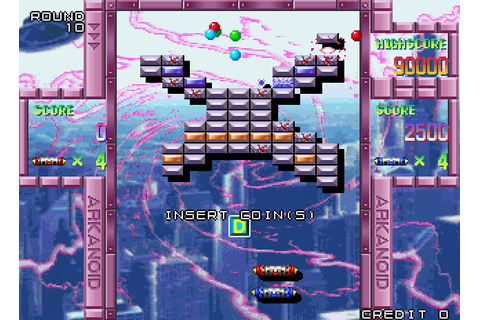 Arkanoid Returns (1997) Arcade game