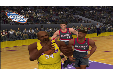 NBA 2K1 gameplay - YouTube