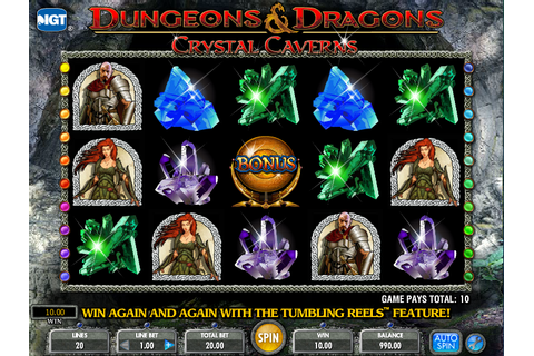Dungeons & Dragons Crystal Caverns Slots Review - Online ...